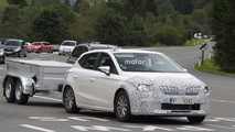 Possible next-gen Skoda Rapid spy photos