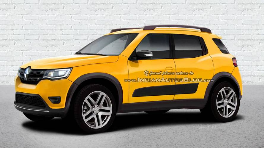 Renault Kwid dará origem a SUV com menos de 4 metros