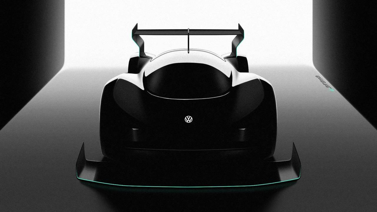 Volkswagen elektromos versenyautó