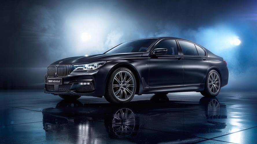 BMW Individual Gives 7 Series A Stealthy Look In Russia