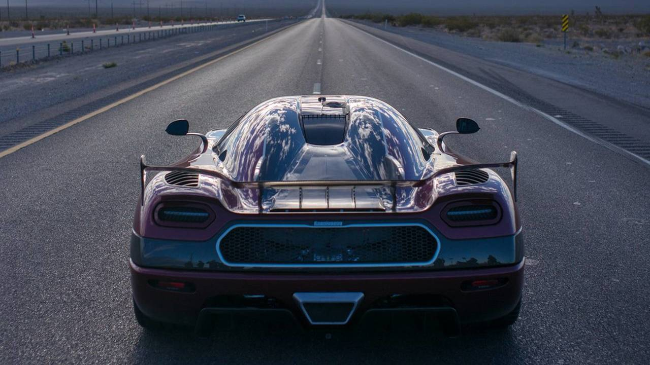 Koenigsegg Agera RS Speed Record