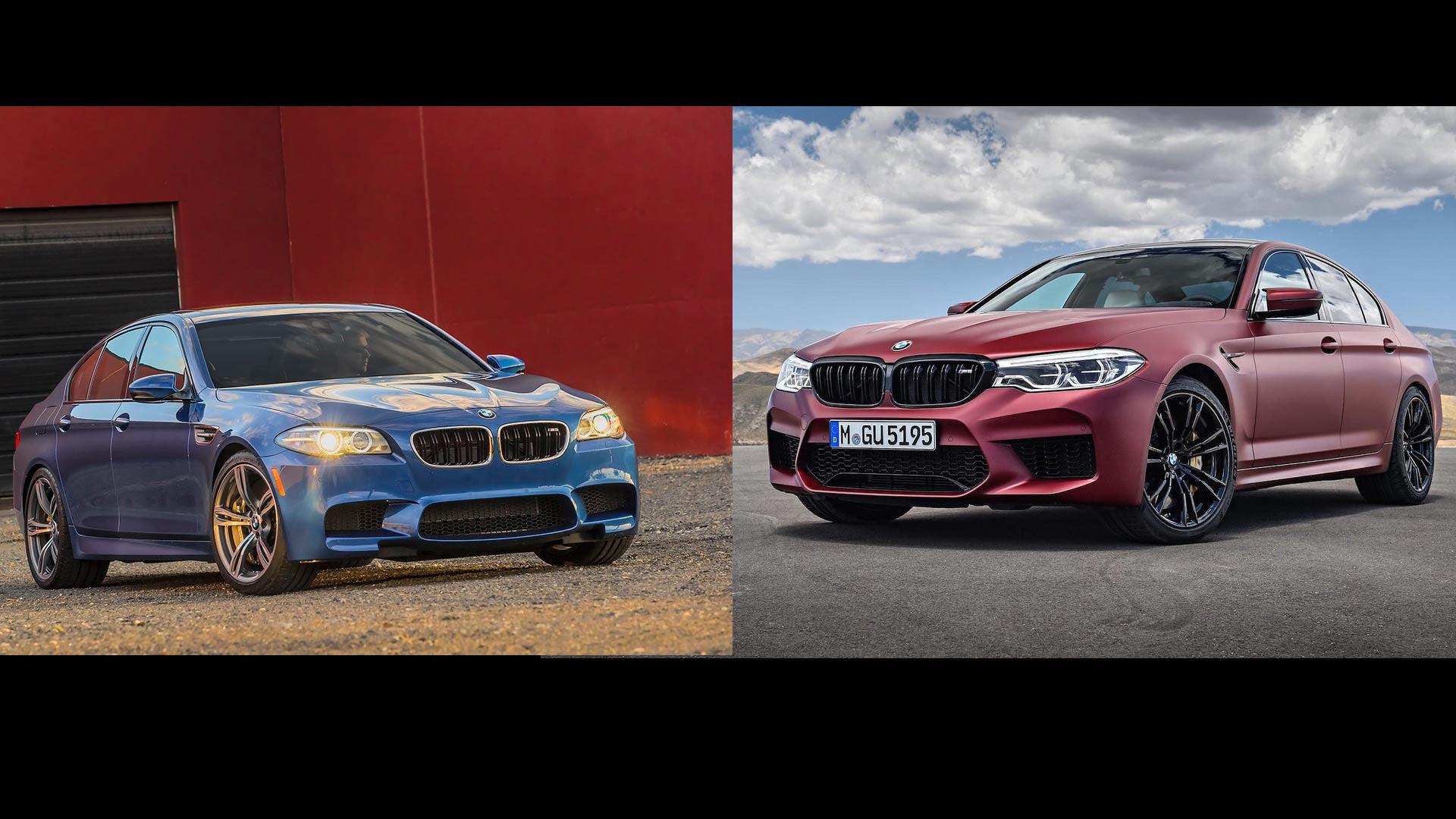 2018 Bmw M5 See The Changes Side By Side