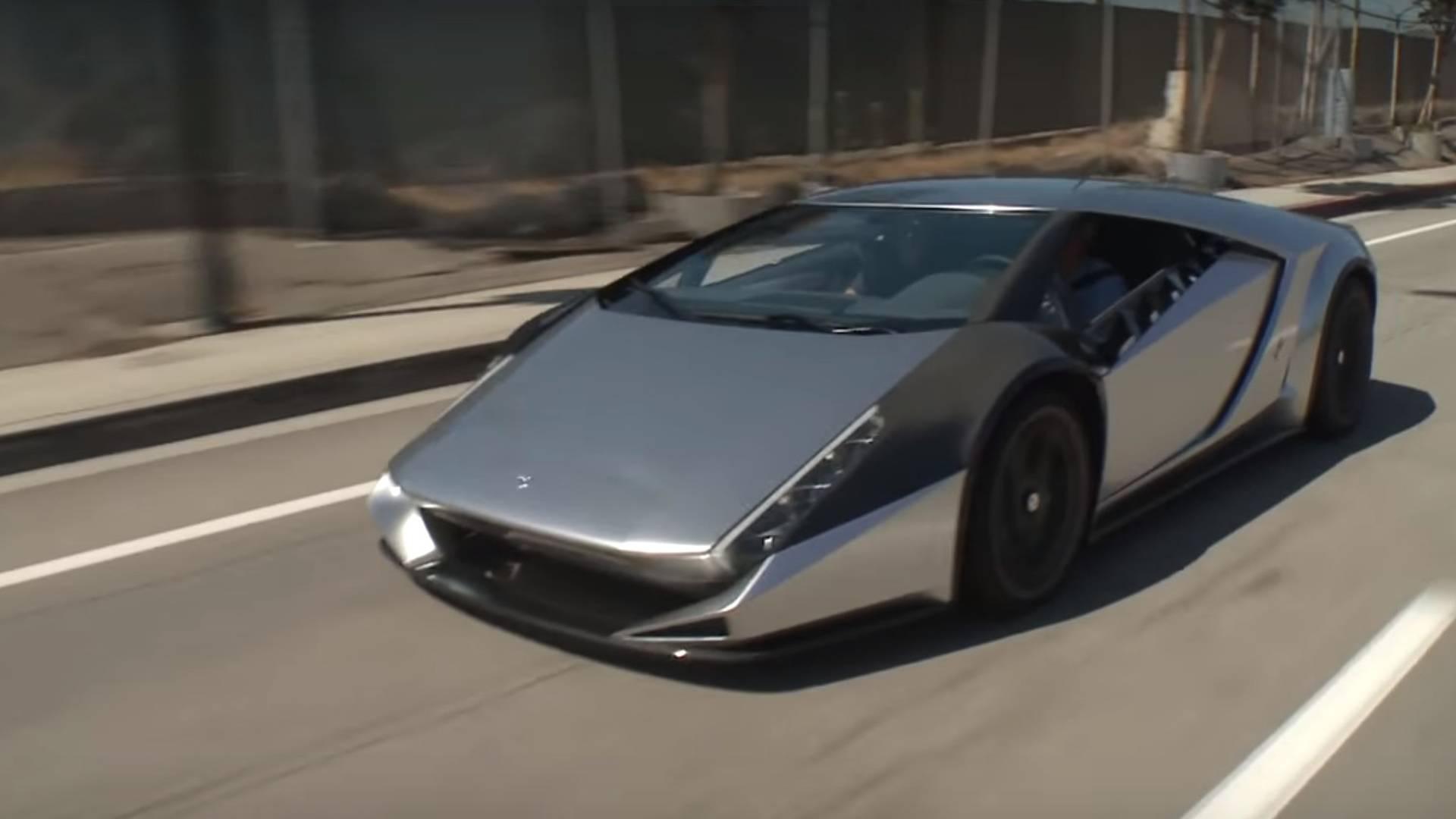 Kode 0 Supercar Visits Jay Leno S Garage For A Drive