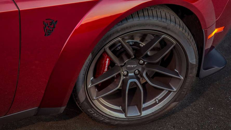Dodge Demon Buyers Can Get Street Tires Other After Sale Add Ons
