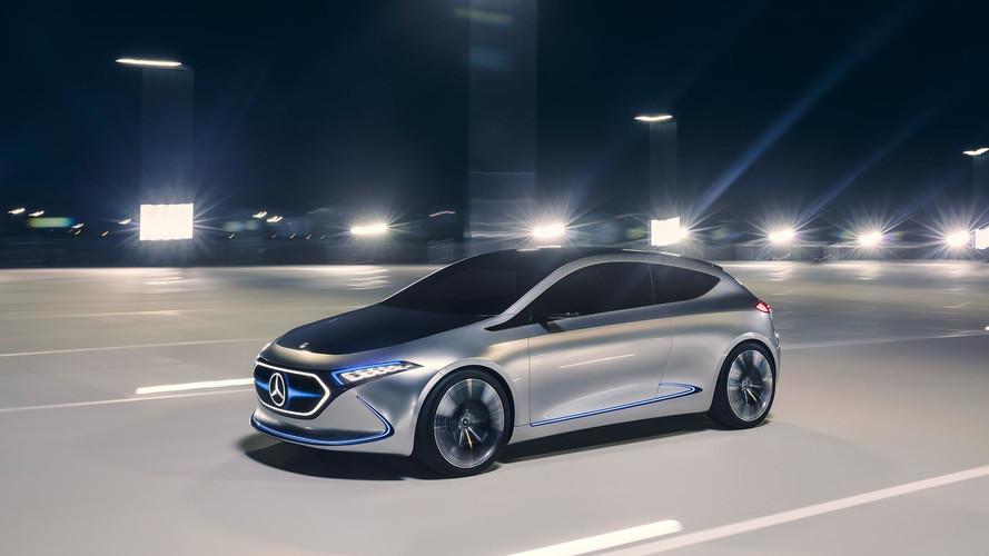 Rendkívül sportos lett a Mercedes-Benz EQ A tanulmány