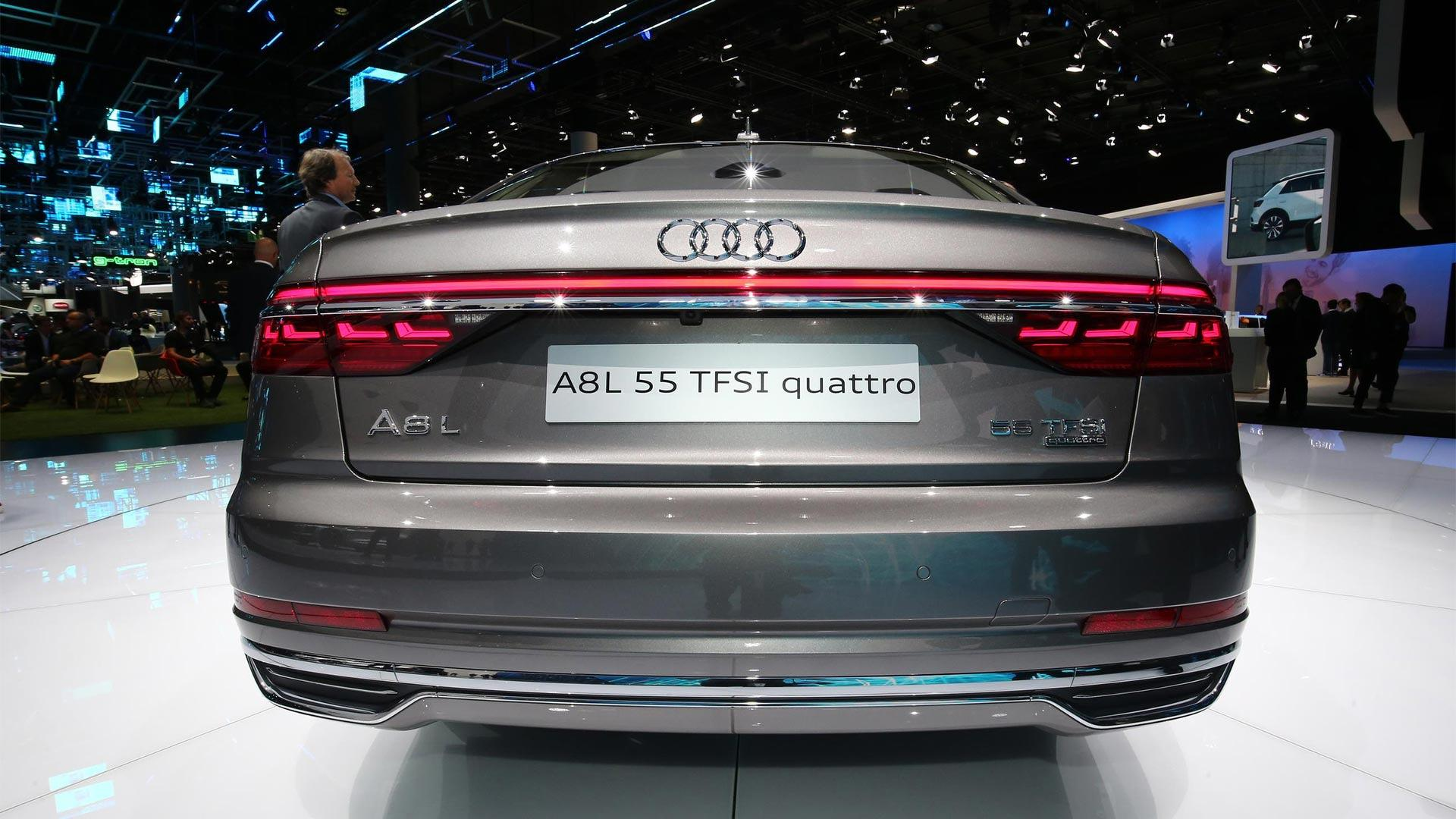 Audi A Has Lasers Foot Massagers And A Big Price Tag - Audi a8 2018