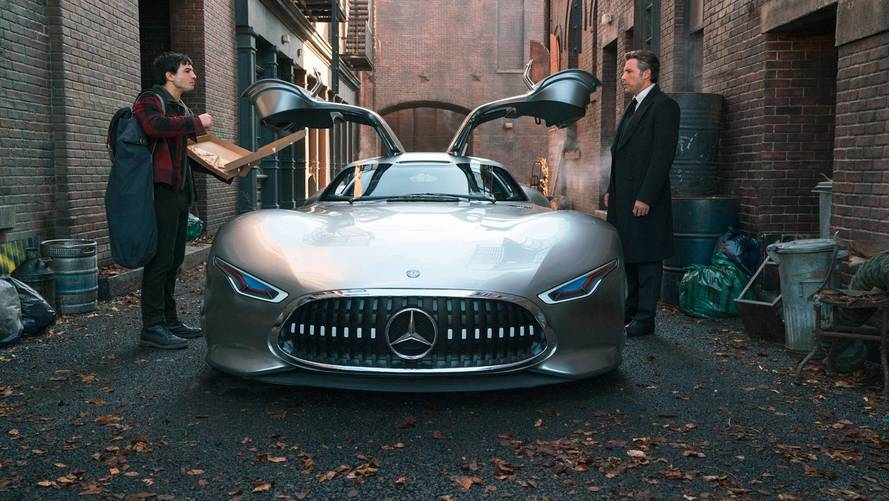 Bruce Wayne To Drive Mercedes AMG Vision GT In Justice League