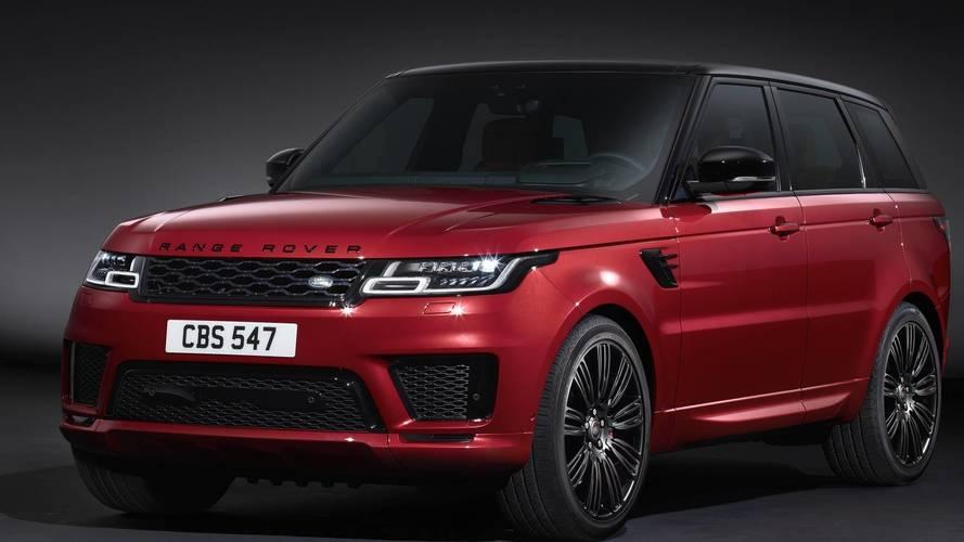 2018 Range Rover Sport összes változat - Sport - SVR - Plug-in hibrid