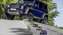 Mercedes G500 4×4² 1:18 scale model