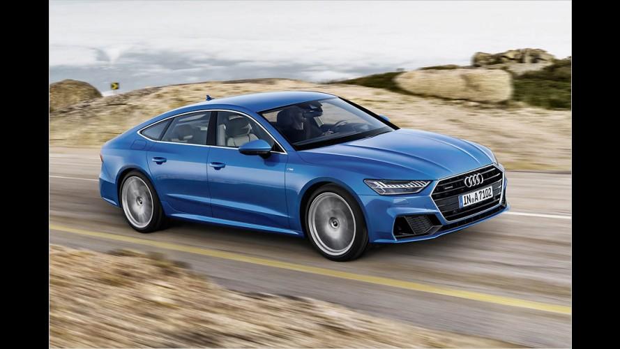 Audi A7 Sportback (2018): Länge läuft