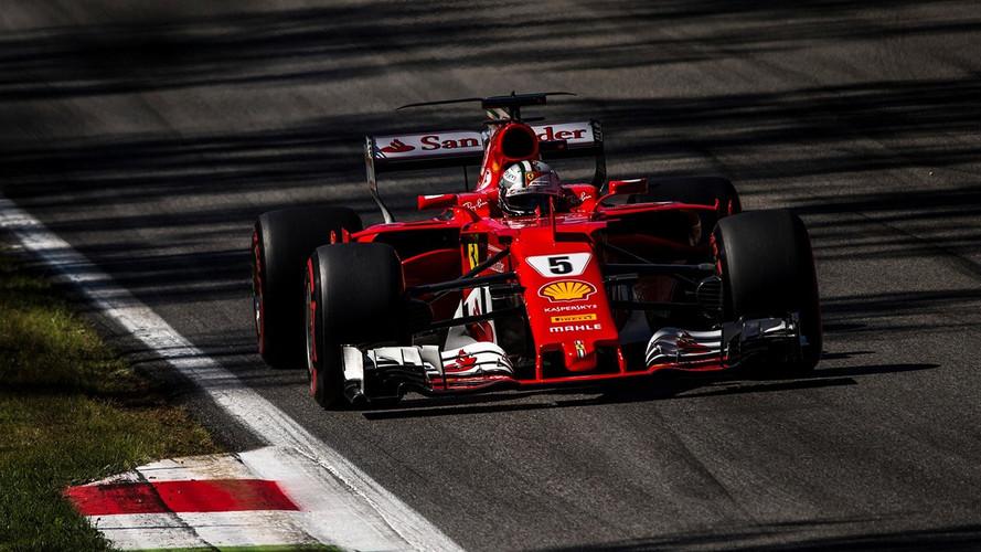F1 Grand Prix d'Italie 2017 Sebastian Vettel
