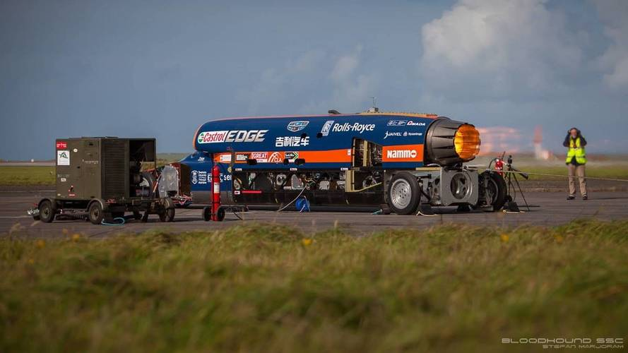 Bloodhound SSC 200-MPH Run: How It Happened