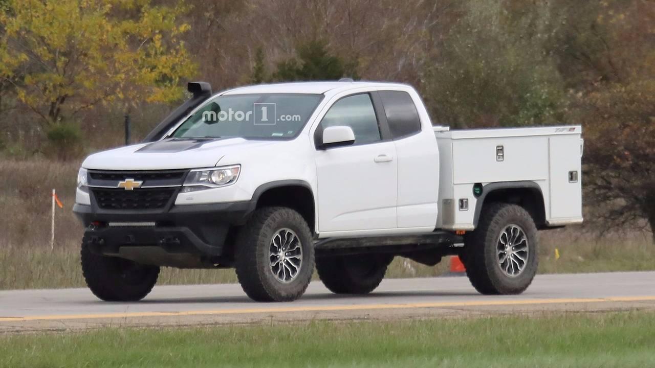 Midnight Edition Chevy Silverado >> Chevy Files 'ZR2 Bison' Trademark For Potential Colorado Variant
