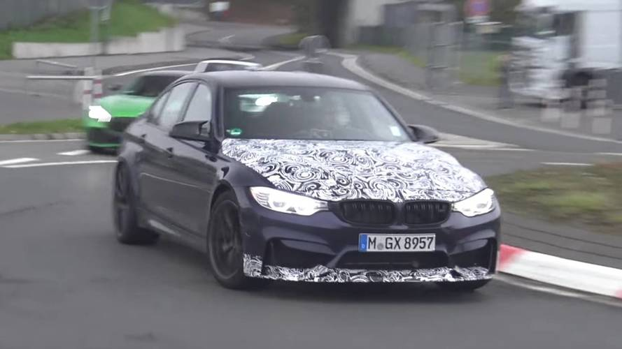 2018 BMW M3 CS Spied In Motion For The First Time