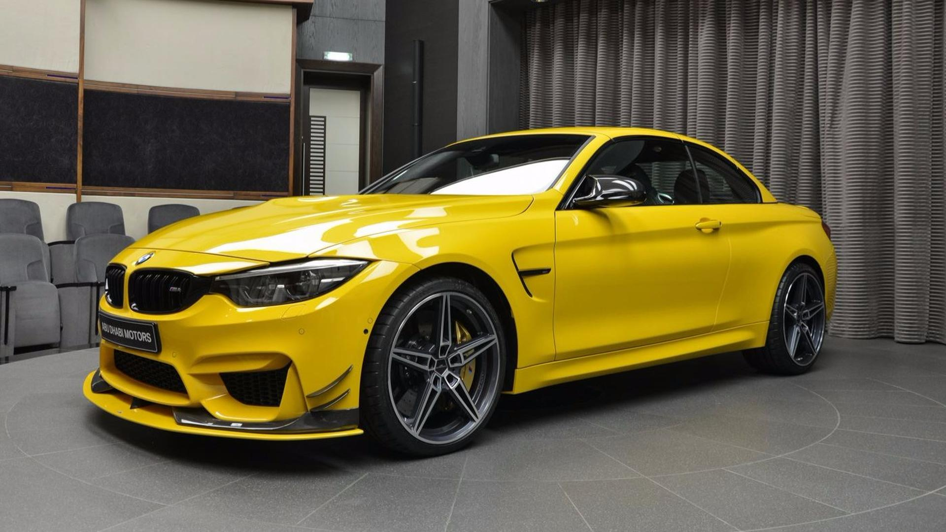 Bmw M4 Convertible With Ac Schnitzer Upgrades Is The Top Banana