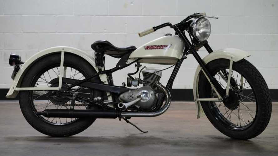 Get On This Harley-Davidson Hummer From 1955 For Sale