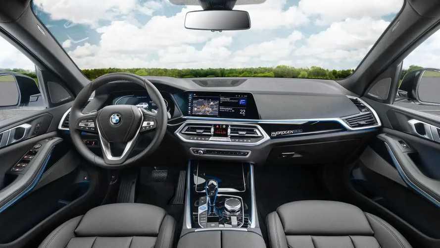 BMW iX5 a hidrogênio