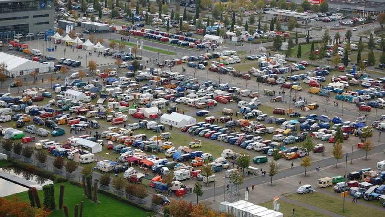Volkswagen Bus Festival 2022 - panoramica