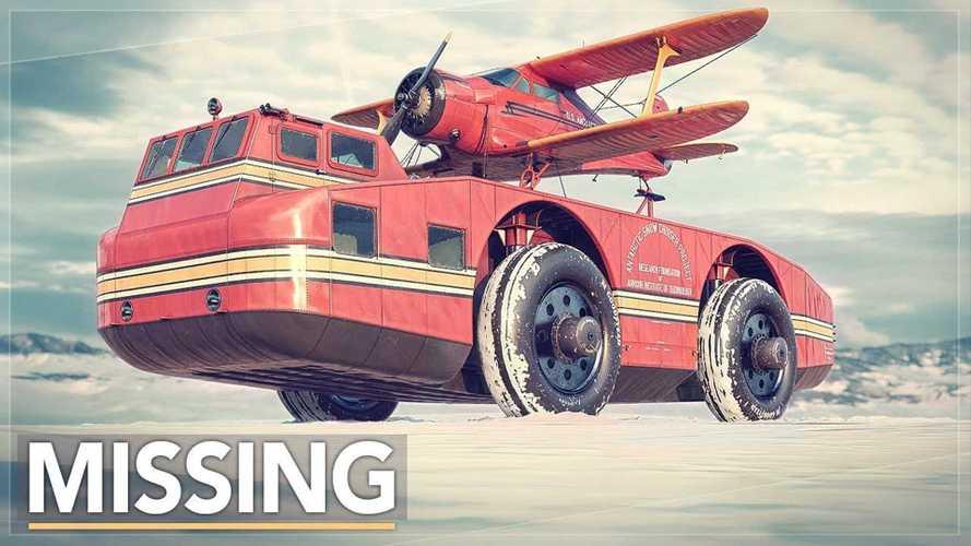 Infamous Antarctic snow cruiser recreated in CGI for excellent mini-doc