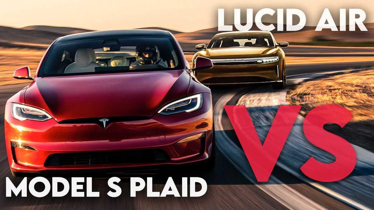 Tesla Model S Plaid Versus Lucid Air