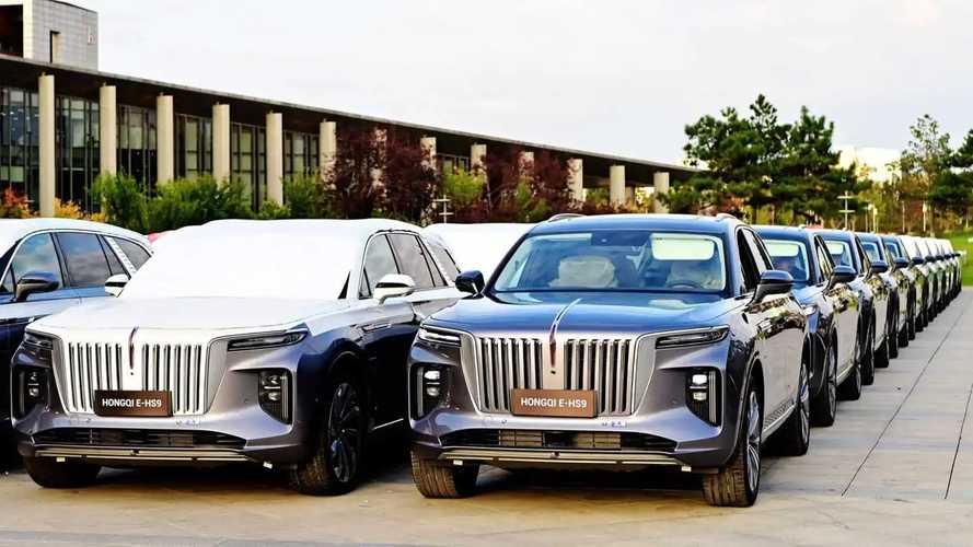 Hongqi E-HS9 - Le faux SUV Rolls-Royce chinois débarque en Europe