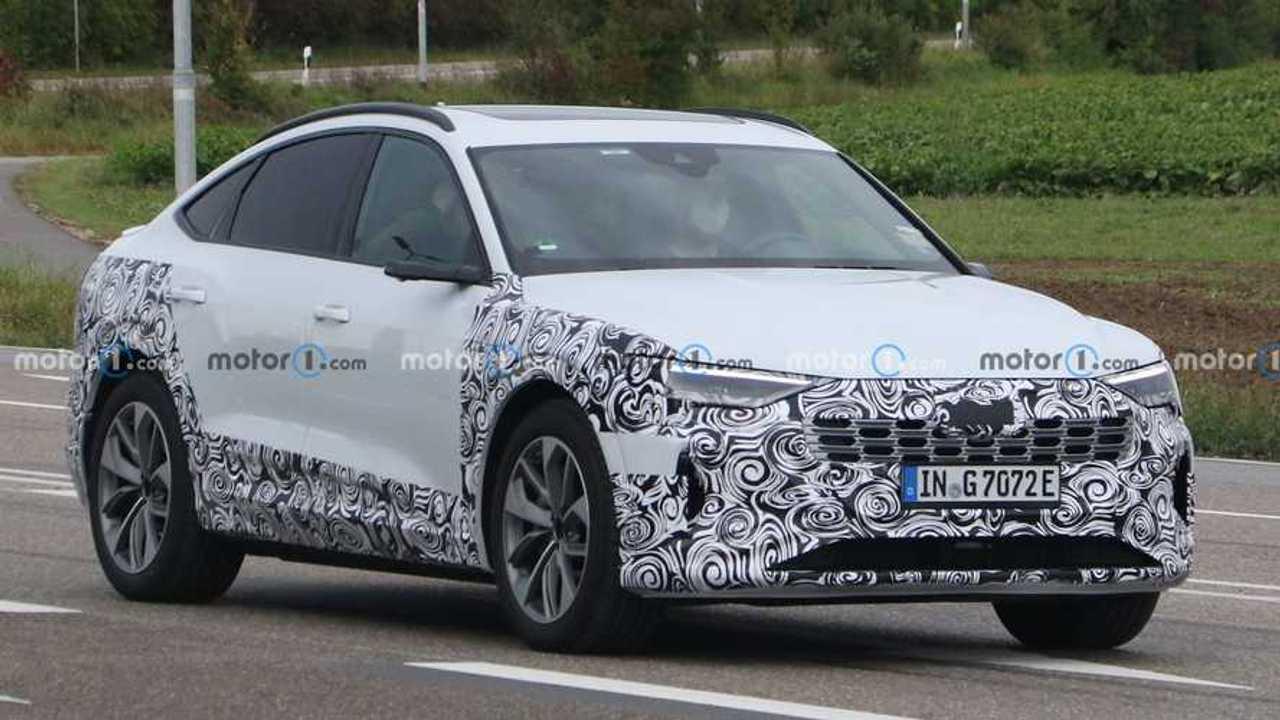 2023 Audi E-Tron Sportback spy photos.