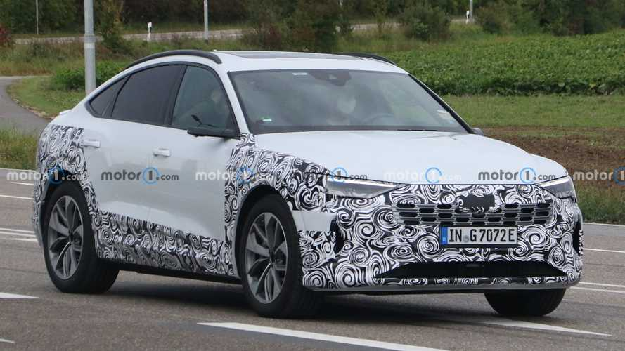 2023 Audi E-Tron Sportback Mid-Cycle Refresh Spied For First Time