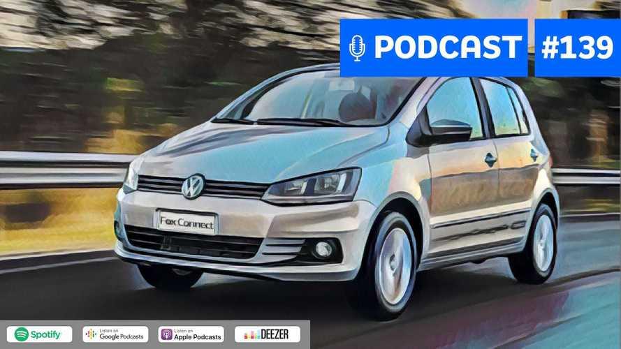 Motor1.com Podcast #139: Volkswagen Fox morreu injustiçado?