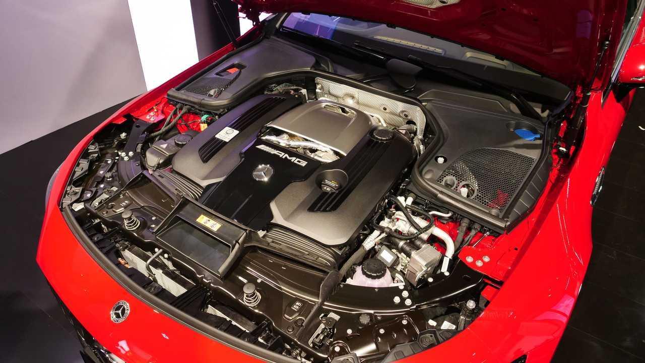 Moteur Mercedes-AMG GT 63 S E Performance