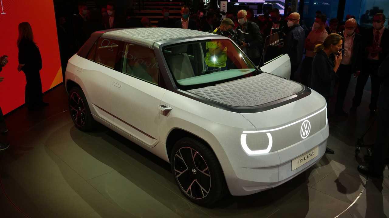 Live photos of Volkswagen ID.LIFE from IAA 2021