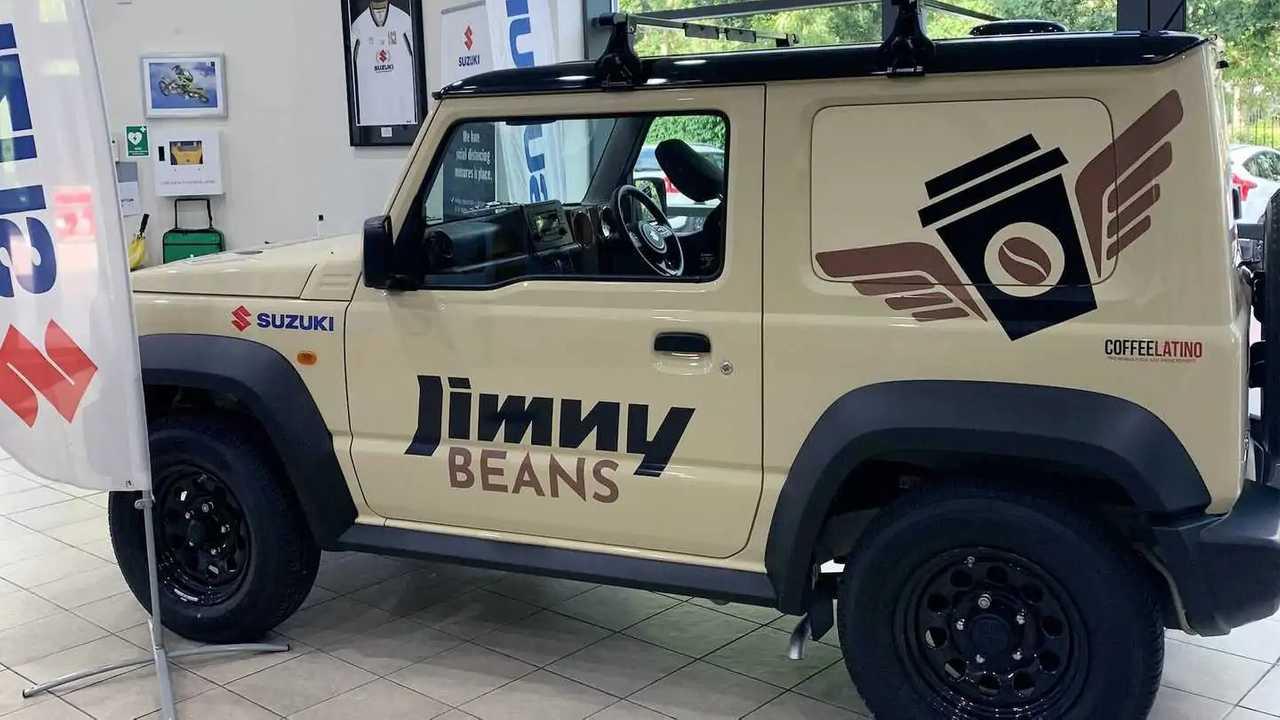 Suzuki Jimny Pro convertido en cafetería móvil