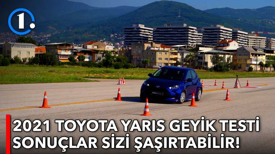 2021 Toyota Yaris | Geyik Testi