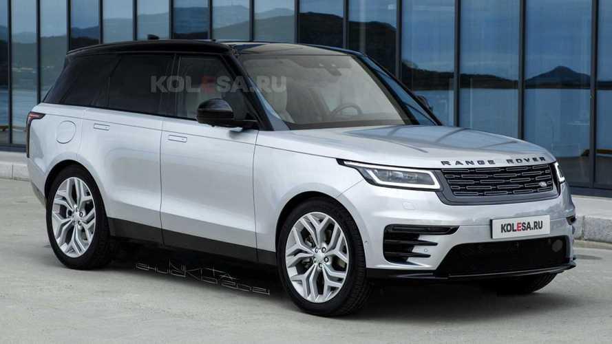 Range Rover (2022): Kommende Generation als erstes Rendering