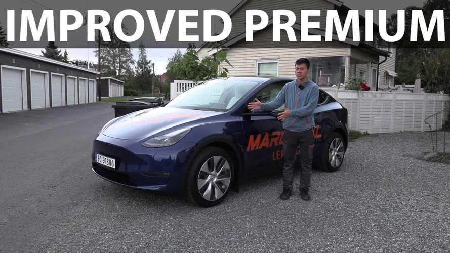 Bjørn Nyland Checks Out MIC Tesla Model Y Interior