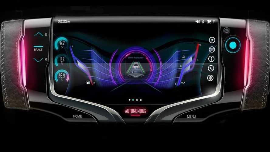 Volante do futuro? GM revela peça que parece videogame portátil