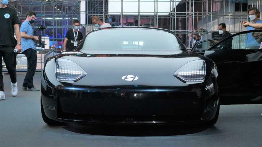 Tutte le foto della Hyundai Ioniq 6 Concept (Prophecy)