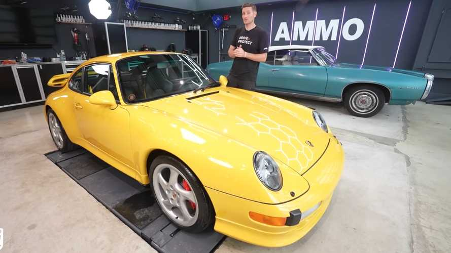 Porsche 911 993 Gets First Detail in 24 Years, Looks Better Than New