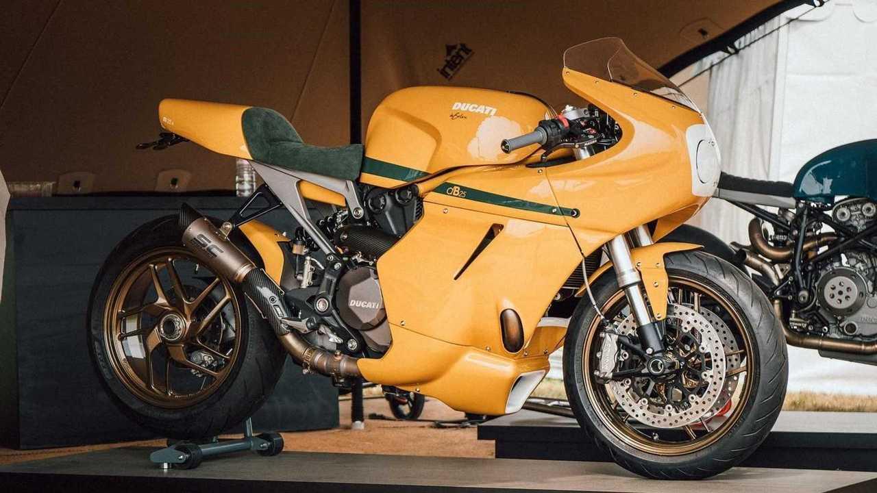 DeBolex Engineering Db25: Ducati Monster 1200 - Side, Right (Yellow)