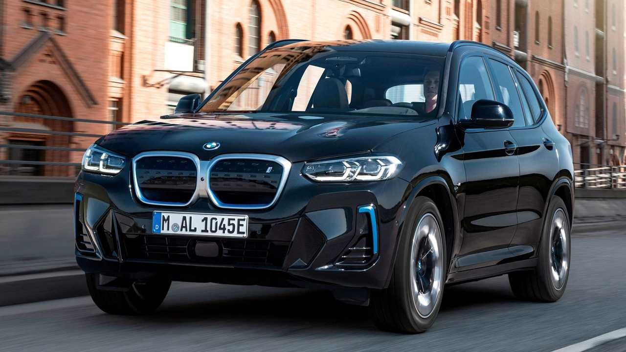 2022 BMW iX3.
