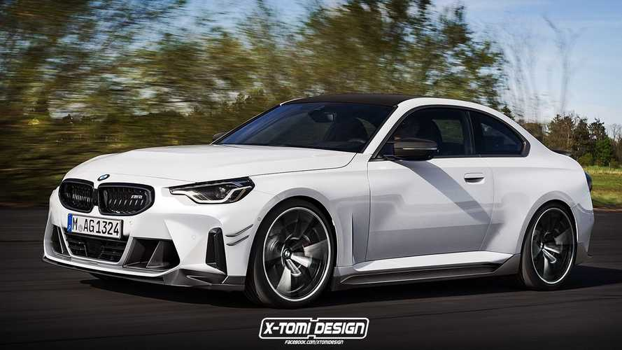 2023 BMW M2 rendering shows an unofficial preview of the hot 2er