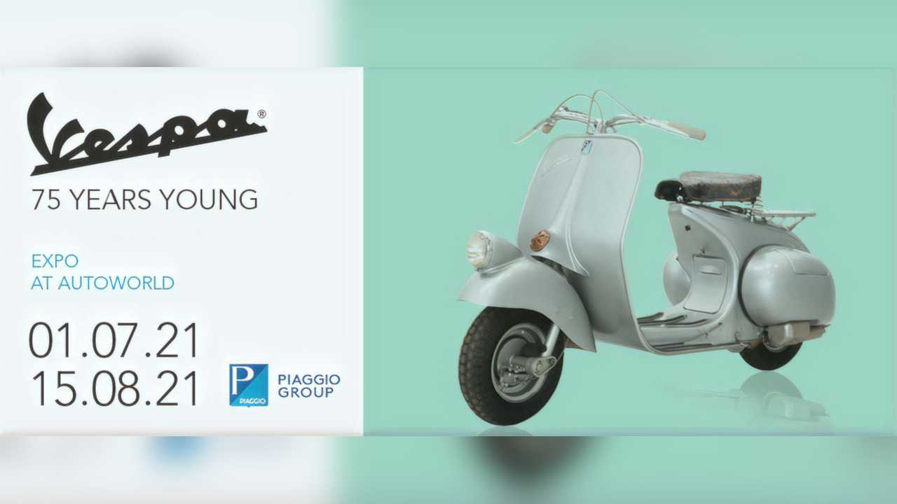 2021 Vespa 75 Years Young Autoworld