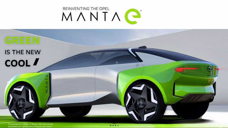 Opel Confirms Manta-e For Production, Looks Like A Crossover Coupe