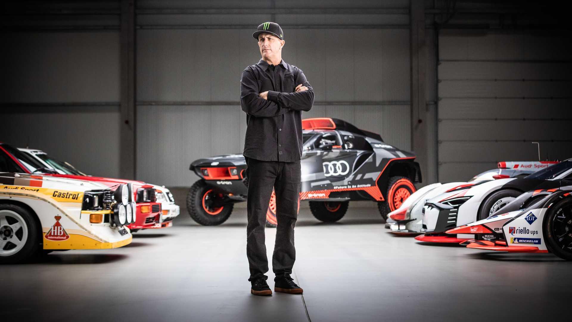Ken Block Partnership With Audi With Cars