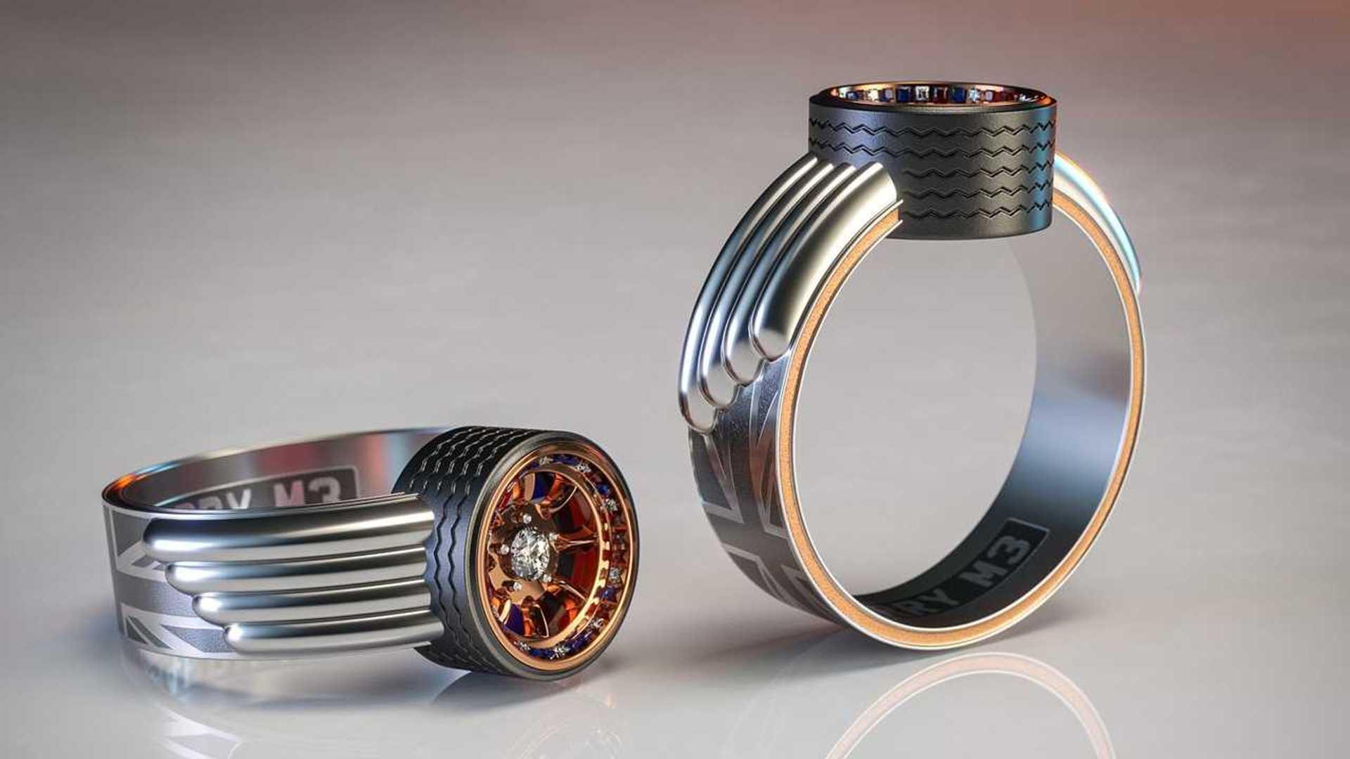 Mini Themed Engagement Ring