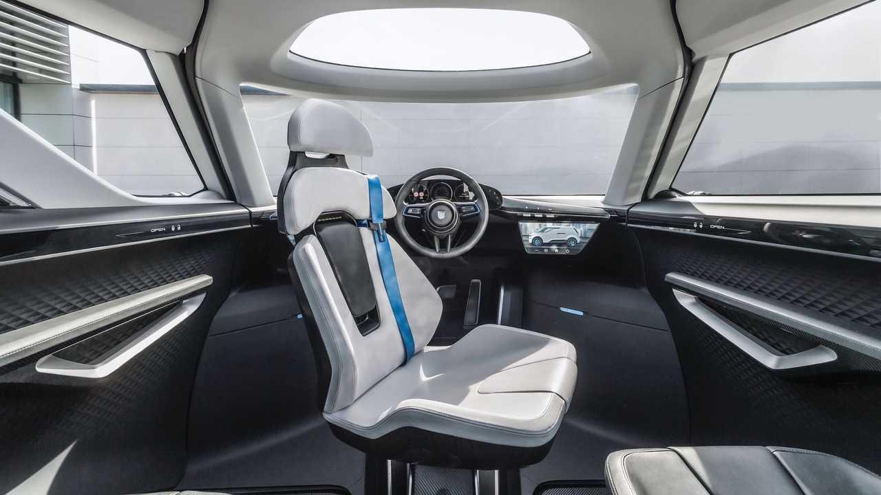 Porsche Vision Renndients Electric Concept Interior 5