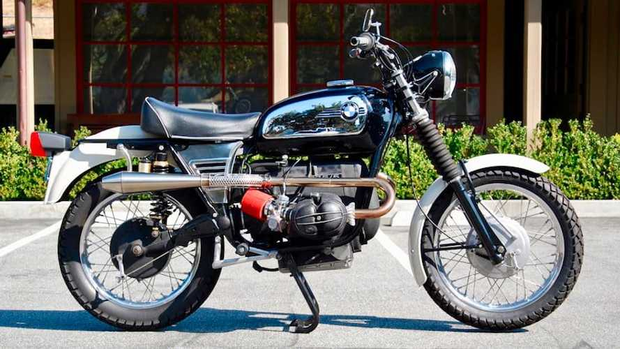 This Custom 1972 BMW R75/5 Keeps Going When The Road Ends