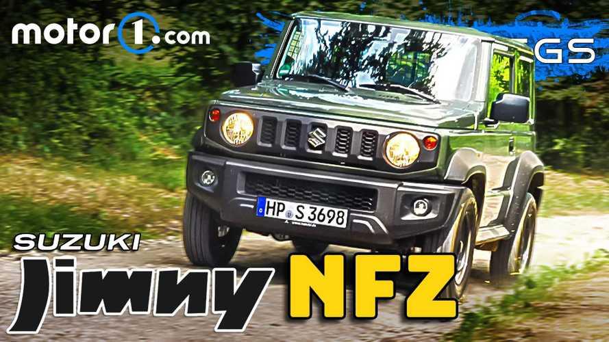 Video: Suzuki Jimny NFZ im Test - Weniger Auto, mehr Preis?