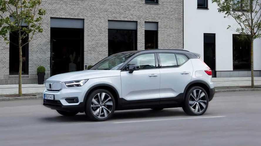 2022 Volvo XC40 Recharge Gets 7% More EPA Range