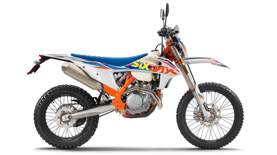 KTM Unveils 2022 500 EXC-F Six Days Just In Time For ISDE 2021