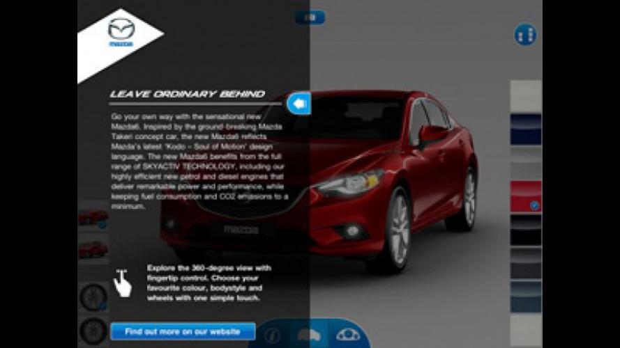 Mazda6 App disponibile per l'Europa